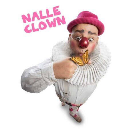 """Nalle Clown (SE/CAN/EST) – """"Nalle Clown får fjärilar i magen"""""""